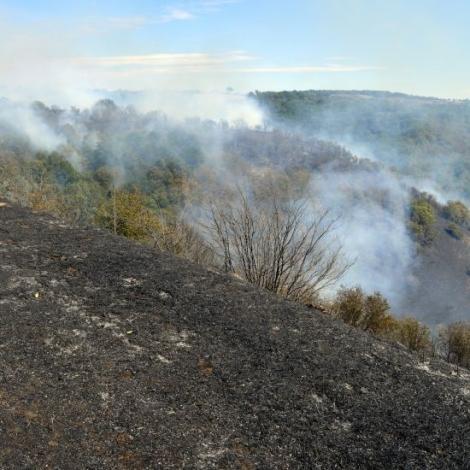 Incendie à Châtelard ce mardi : l'origine volontaire est privilégiée