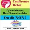 Cyberviolences et harcèlement scolaire en débat à Montluçon...