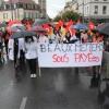Environ 300 personnes ont manifesté hier à Montluçon.