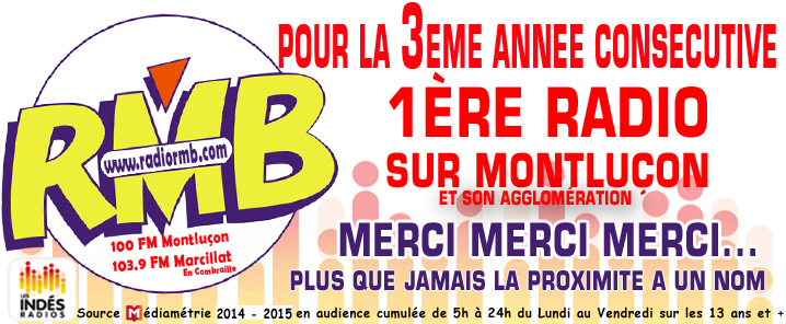 RMB Radio N�1 sur Montlu�on et son Agglom�ration